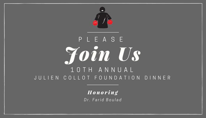10th Annual Jullien Collot Foundation Dinner